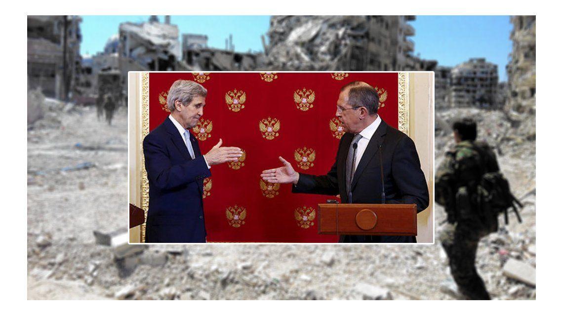Rusia y Estados Unidos acordaron dejar de bombardear Siria