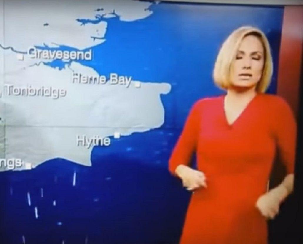 VIDEO: Una periodista de la BBC se desmaya al aire