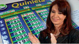CFK trae suerte: salió el 63 en la Quiniela