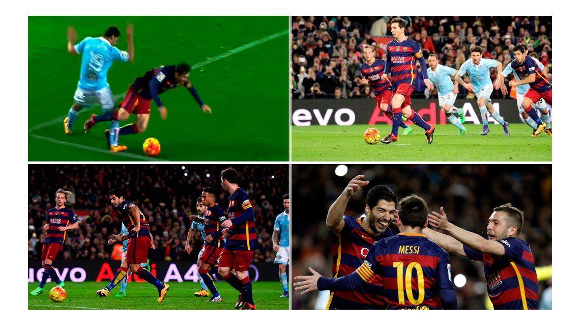 Paso a paso: ¿Cómo se gestó el penal de Messi del que todos hablan?