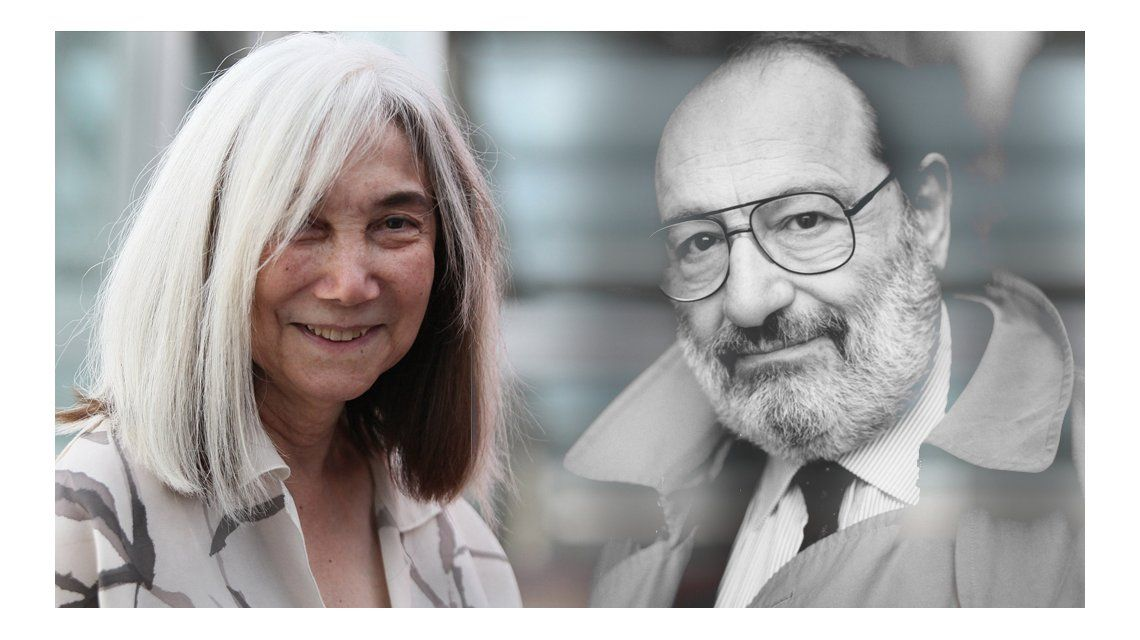María Kodama por Radio 10: Umberto Eco era muy borgeano