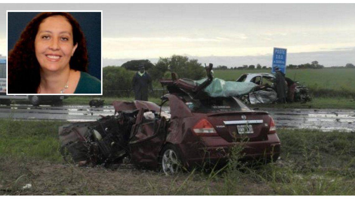 Murió una reconocida comunicadora cordobesa en un choque en Entre Ríos