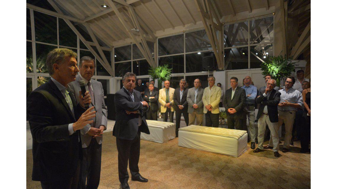 Macri se reunió con legisladores de Cambiemos en Olivos