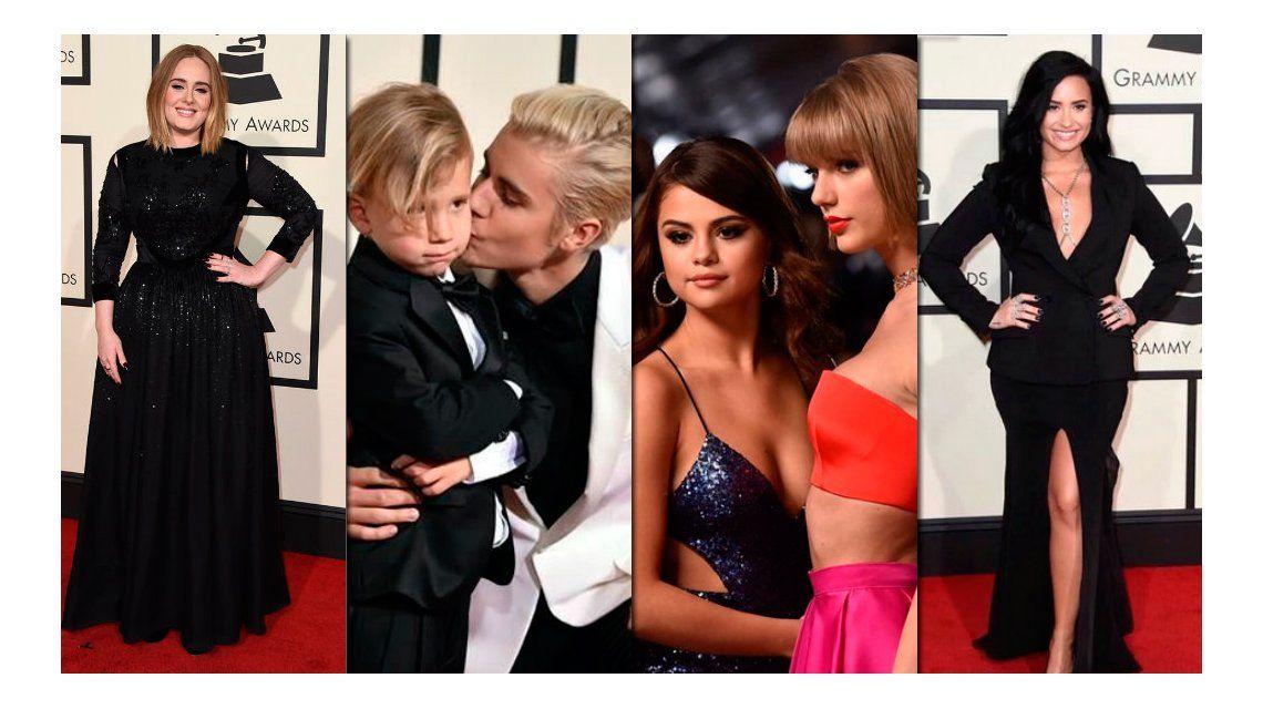 Grammys 2016: Justin Bieber ganó su primer premio y Selena Gomez y Taylor Swift fueron pura sensualidad