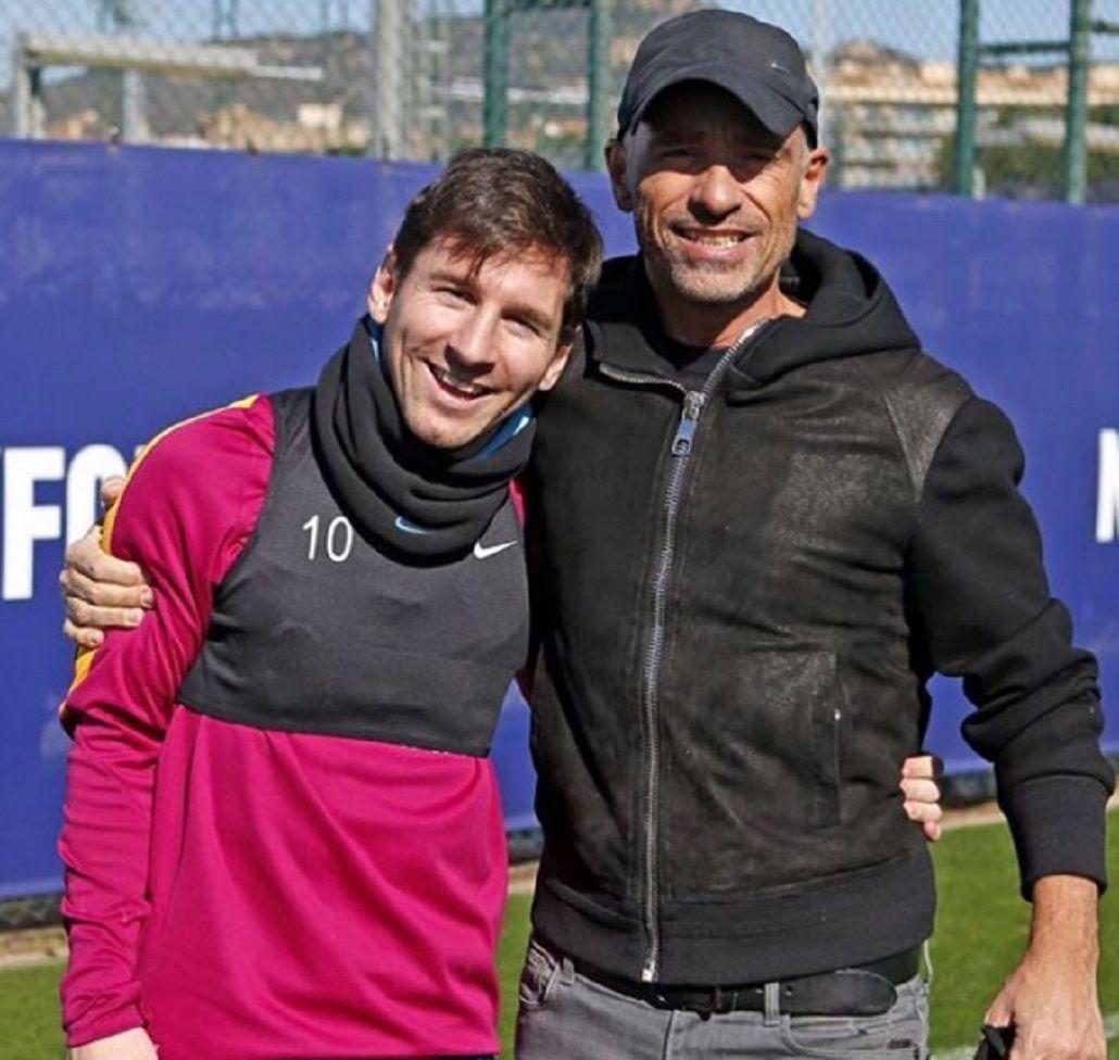Lionel Messi dejó con la boca abierta al cantante Eros Ramazzotti