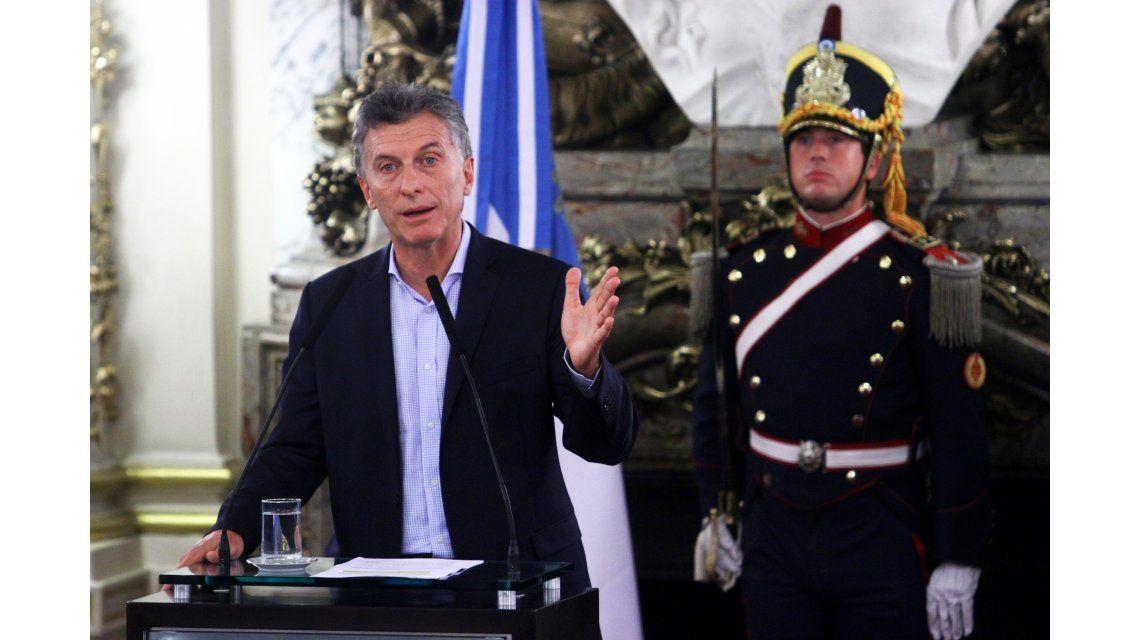 ¿Cómo fue el anuncio del aumento del mínimo no imponible de Mauricio Macri?