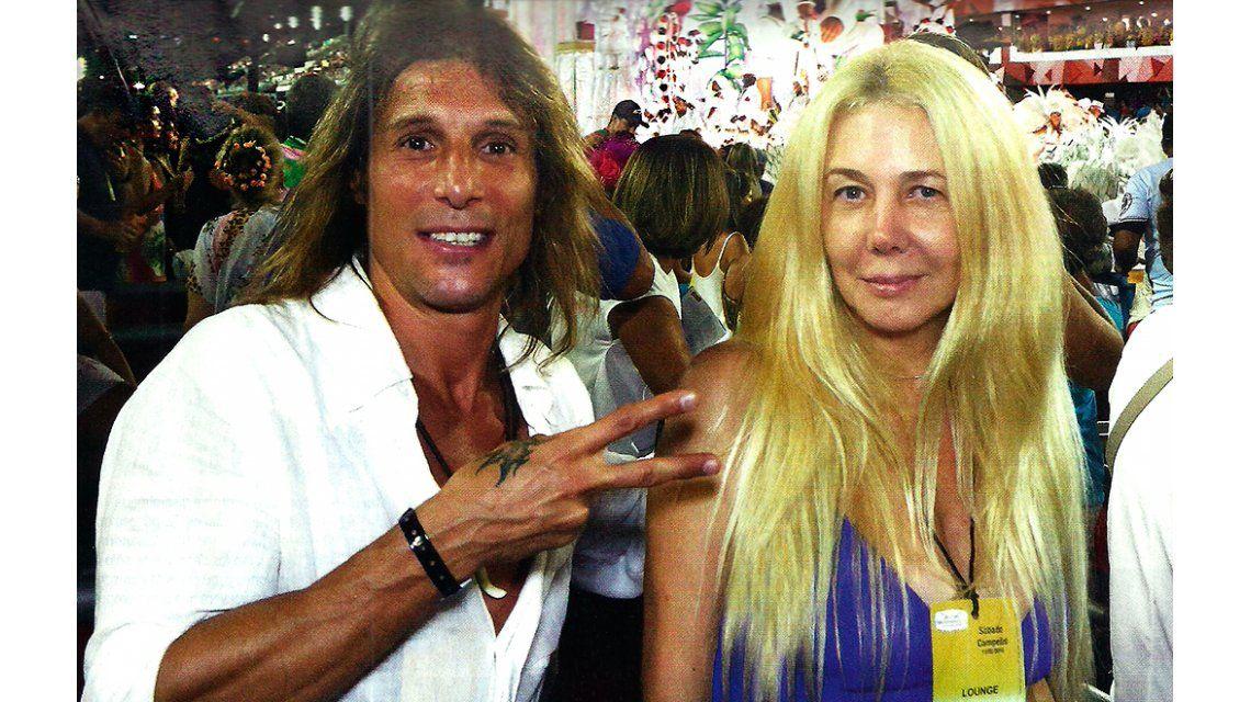 Las vacaciones de Claudio Caniggia y Mariana Nannis en Brasil