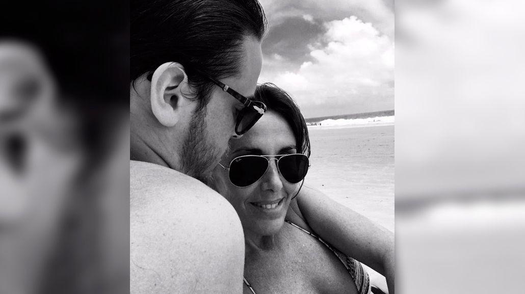 La mini luna de miel de Viviana Saccone y su novio 22 años menor que ella