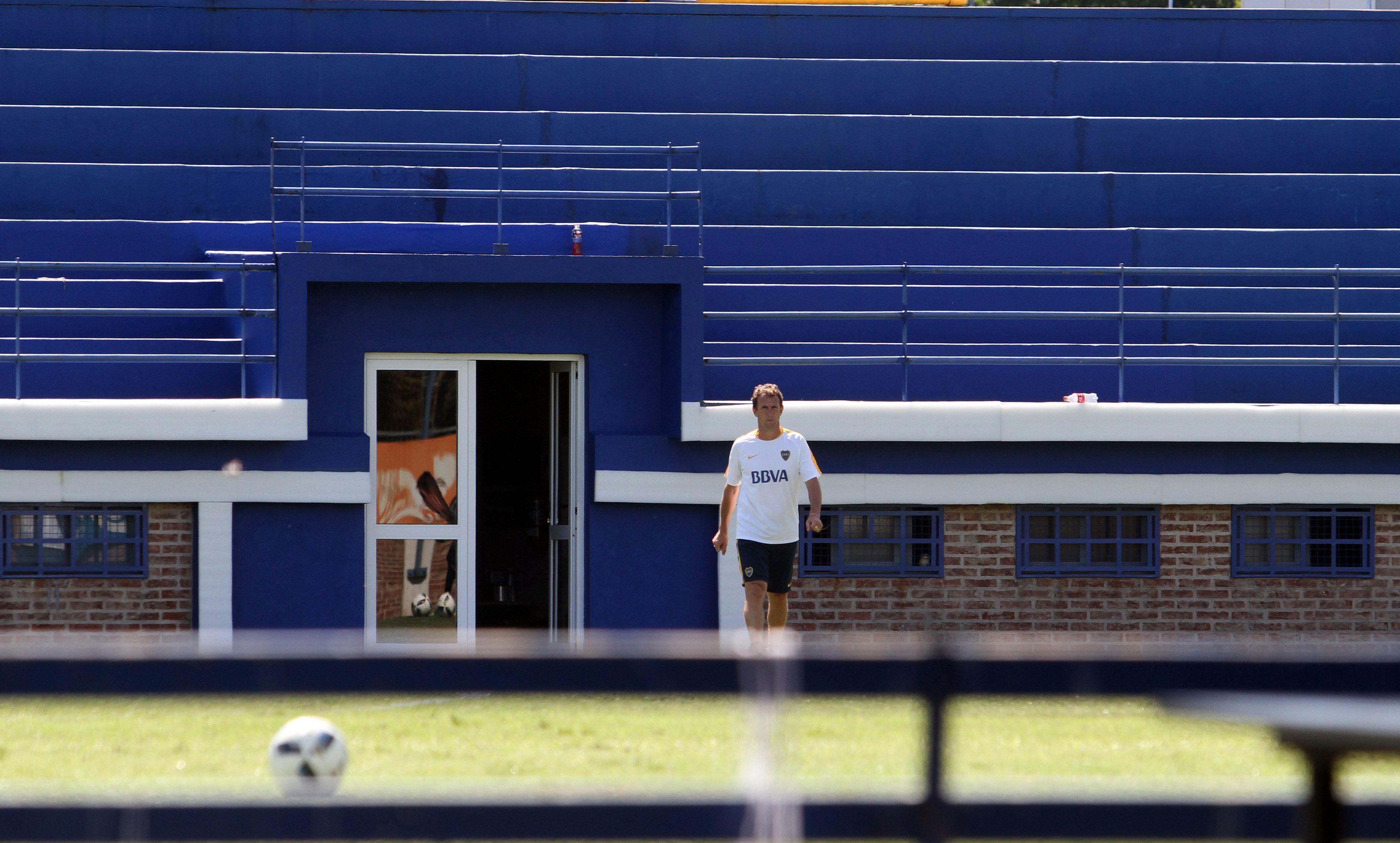 Rodolfo Arruabarrena dirigió la práctica de Boca: ¿Se queda?
