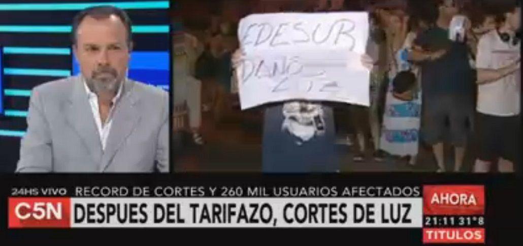 Cacerolazo en Caballito: denuncian que hace cuatro días están sin luz