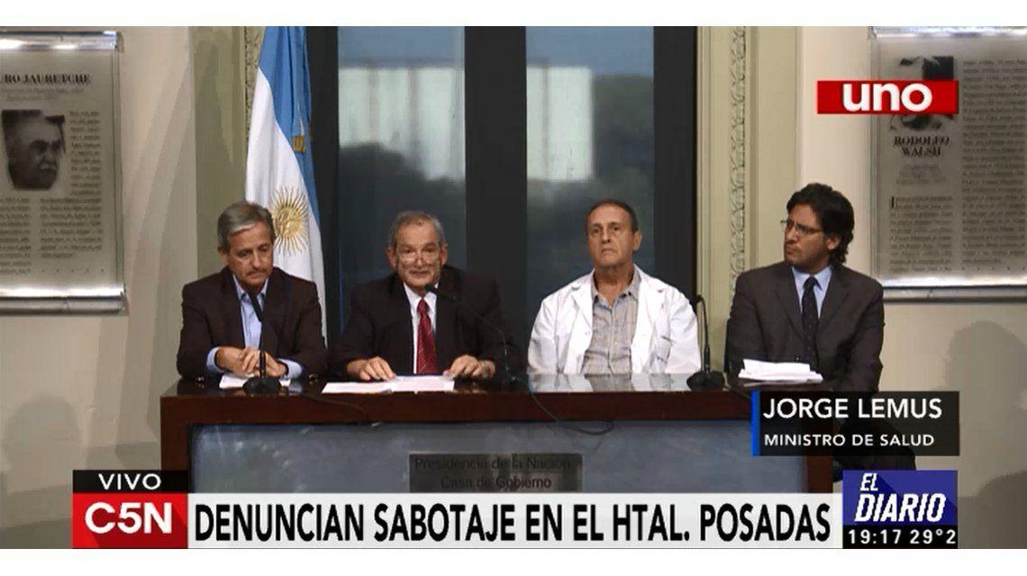 El Gobierno realizó una denuncia por daño al patrimonio del Hospital Posadas
