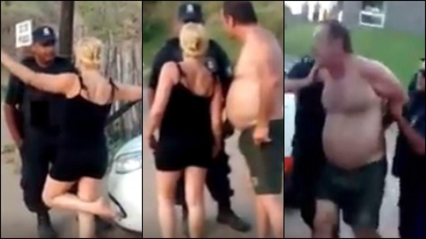 Gritos, insultos y alcohol en una escandalosa pelea en las playas de Pinamar