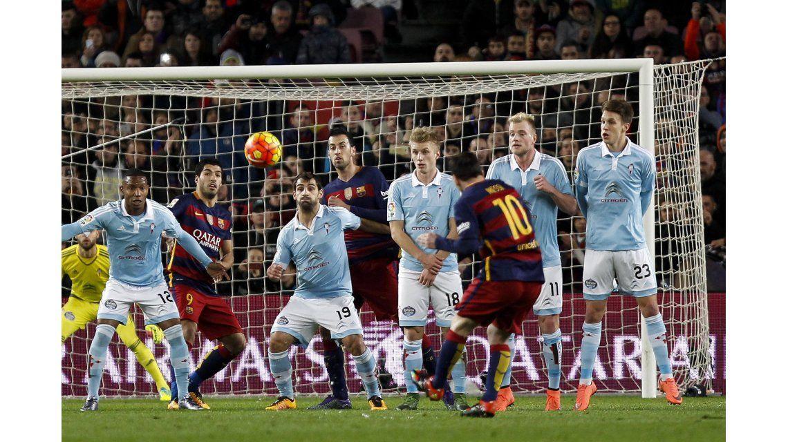 Barcelona fue un festival de goles ante el Celta y es más puntero que nunca