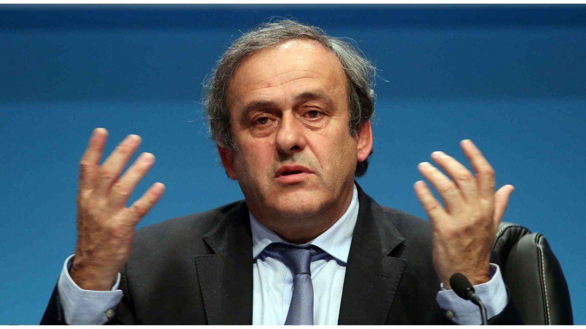 Platini declaró ante el Comité de Apelación de FIFA: No temo por nada