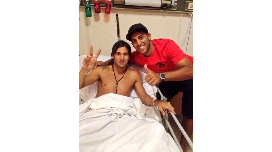 Su estado anímico es bueno, dijo la mujer de Toranzo antes de la operación