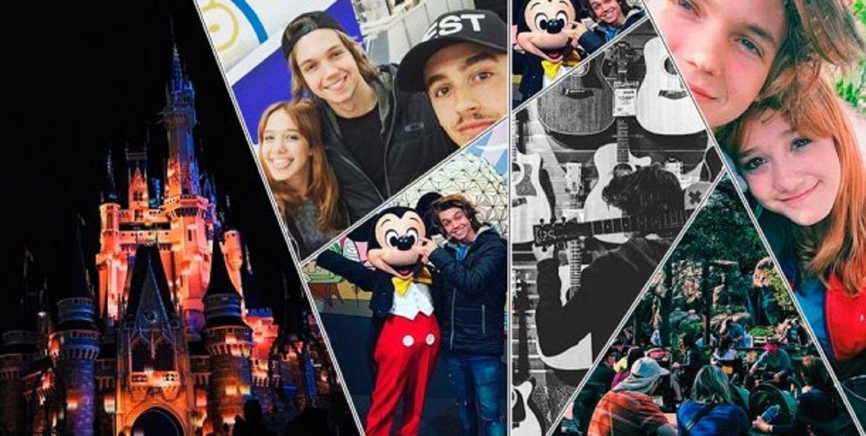 Ángela Torres, Franco Masini y Yeyito De Gregorio, en Disney: música y divertidas selfies