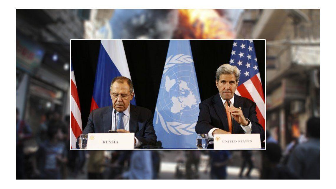 Cese al fuego en Siria, Kerry y Lavrov llegan a un acuerdo