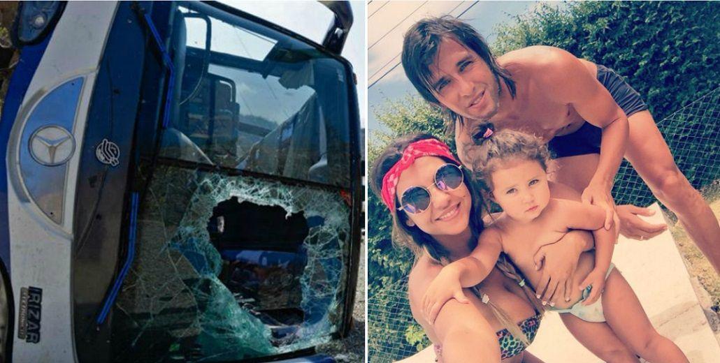 Después del accidente de Huracán, Patricio Toranzo se reencontró con Tamara Alves