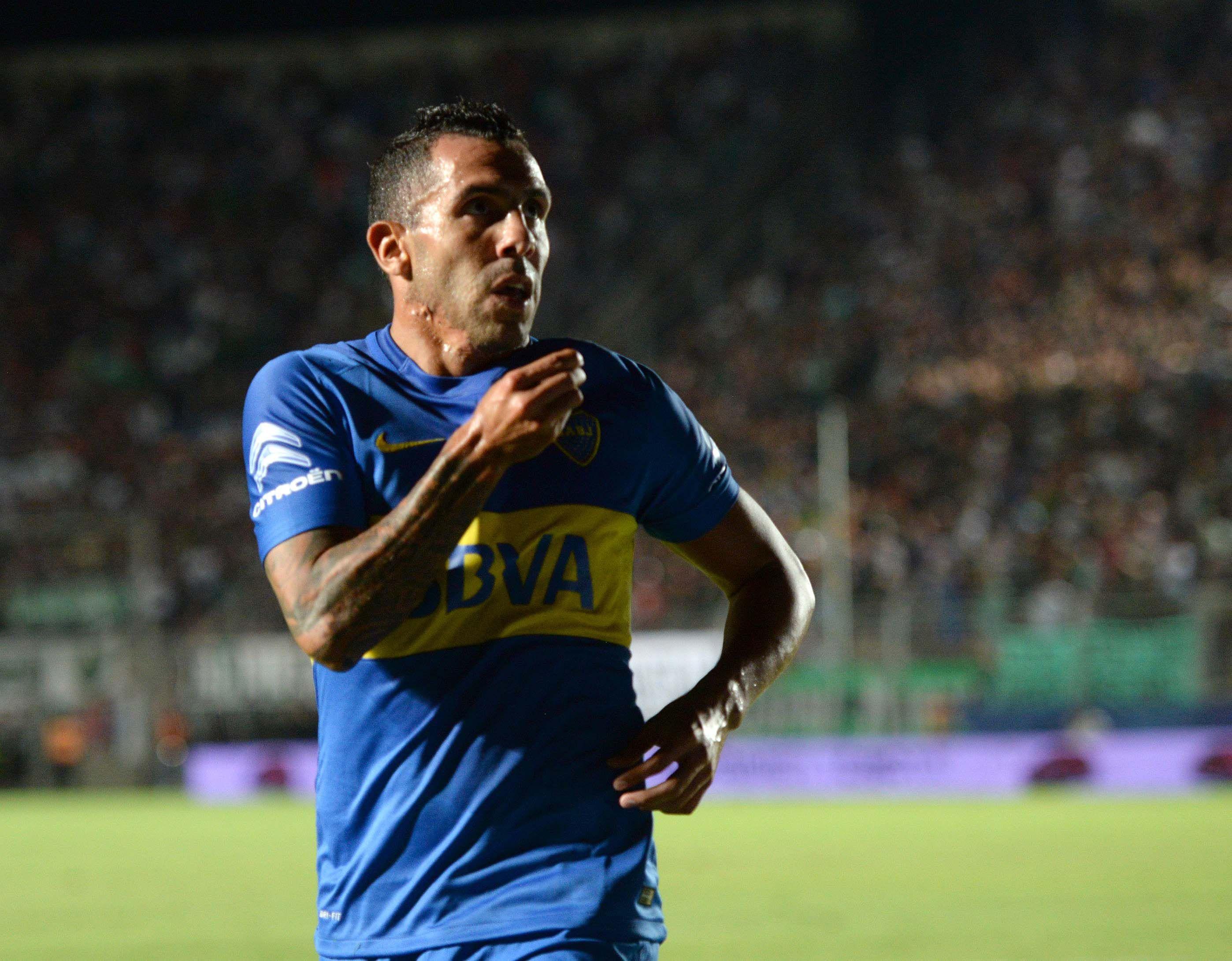 Mirá el gol de Carlos Tevez que terminó con una sequía de 597 minutos