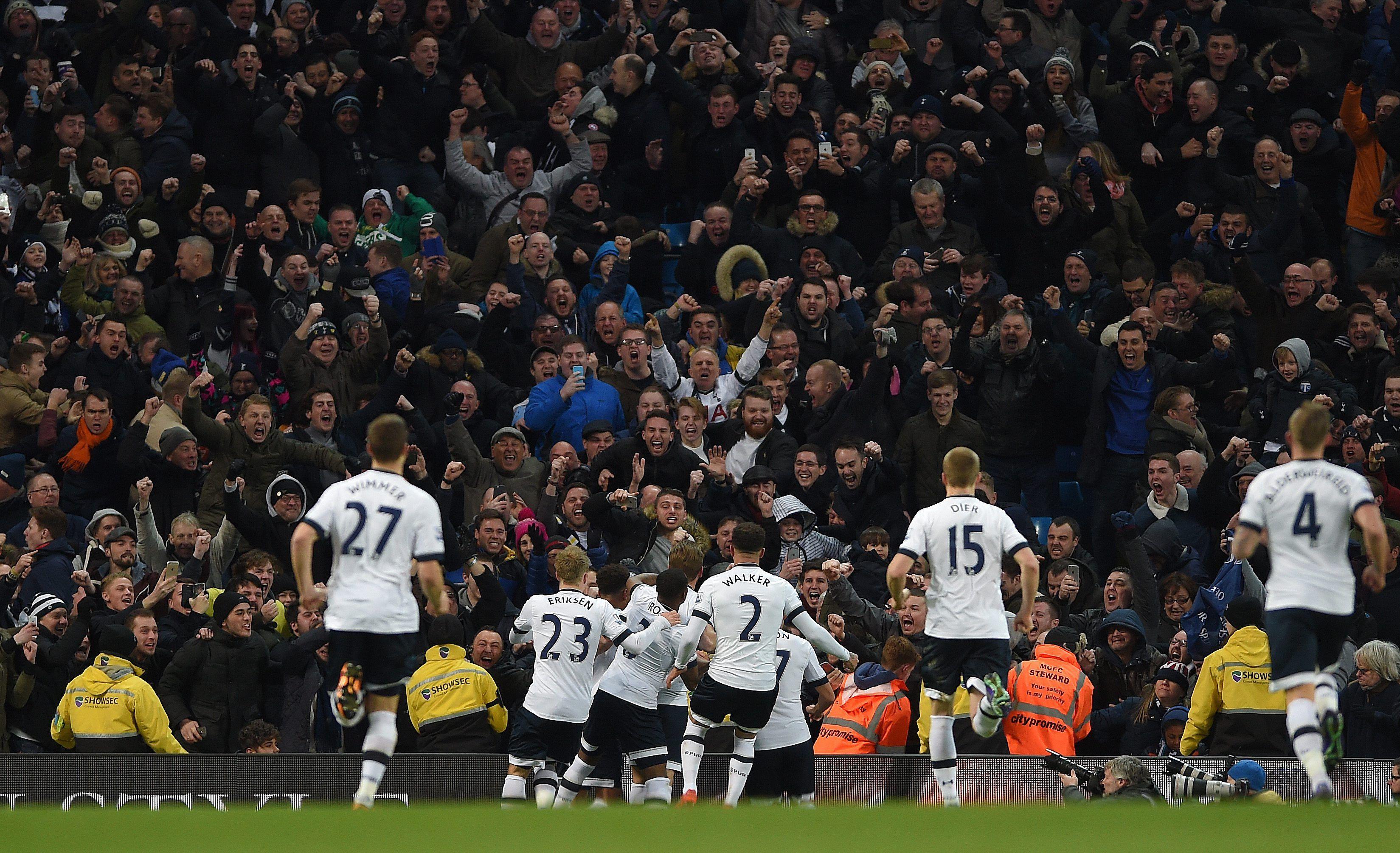 El City de Agüero cayó ante el Tottenham de Pochettino y se alejó de la cima