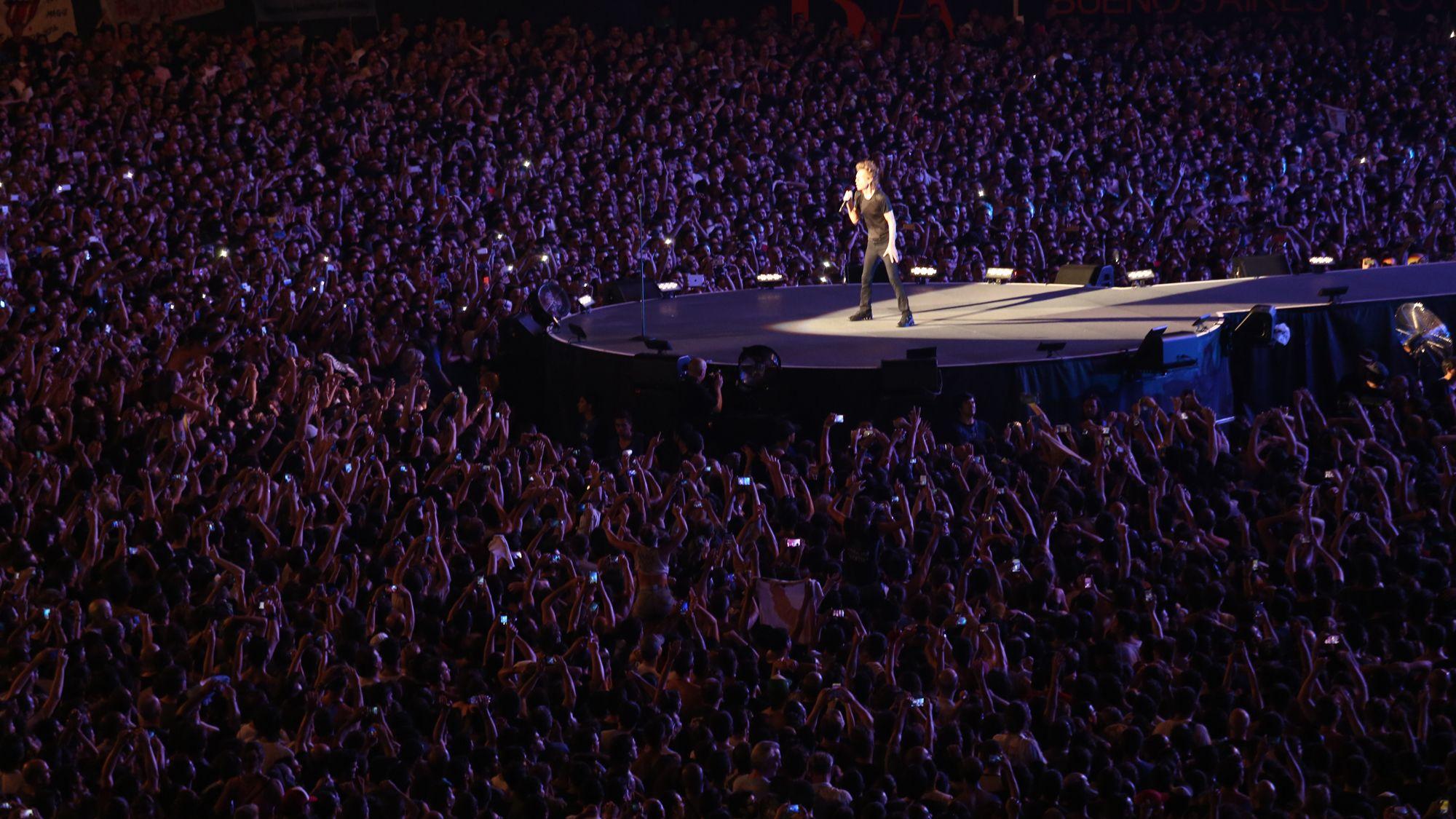 La Plata vuelve a vibrar: los Rolling Stones cierran su paso por Argentina