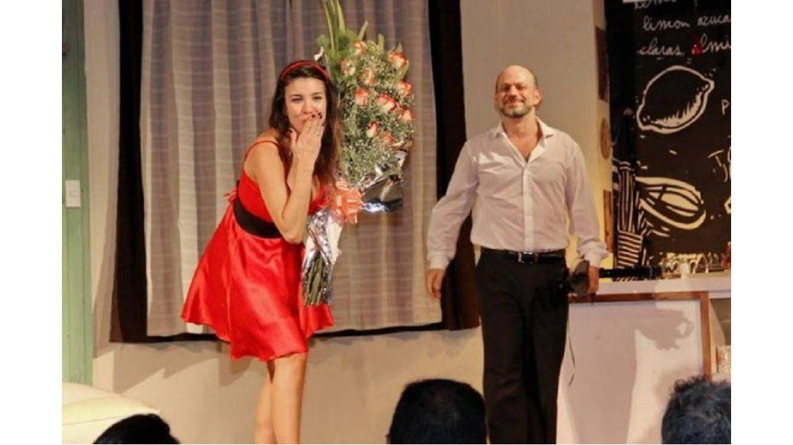 Desvincularon a Andrea Rincón de la obra de teatro