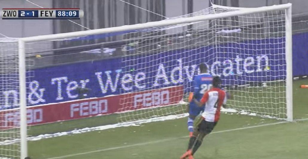 No busquen más: el blooper del año se dio en el fútbol holandés