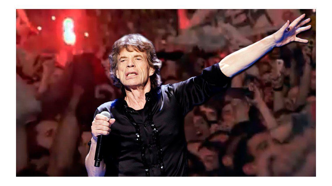 ¿Callejeros? No, los Stones: hubo bengalas en el recital de la banda británica