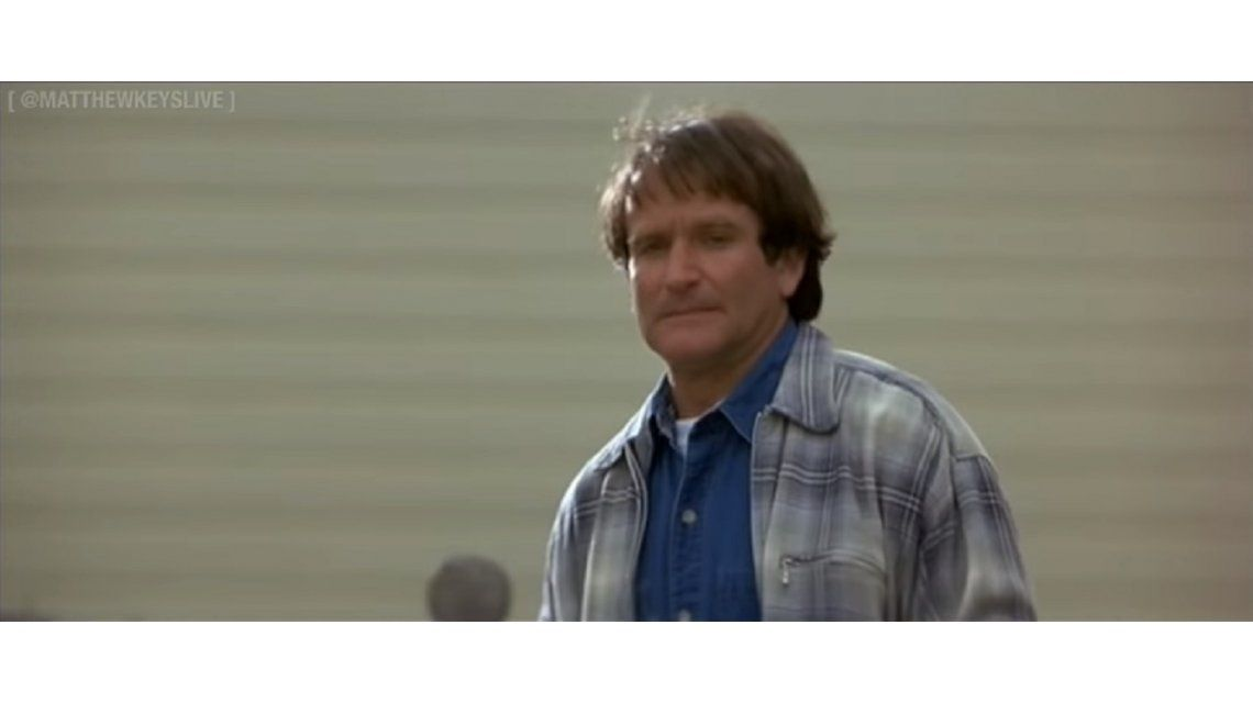 Publicaron escenas inéditas de un clásico de Robin Williams