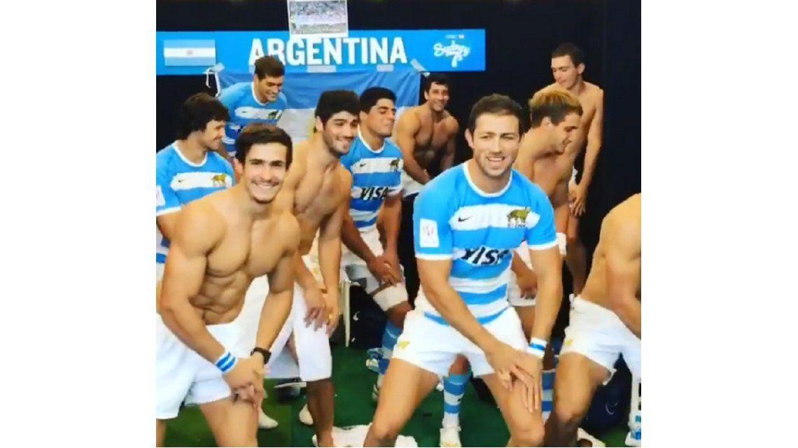 ¿El haka argentino? Los Pumas se animaron a un sensual baile en pleno vestuario
