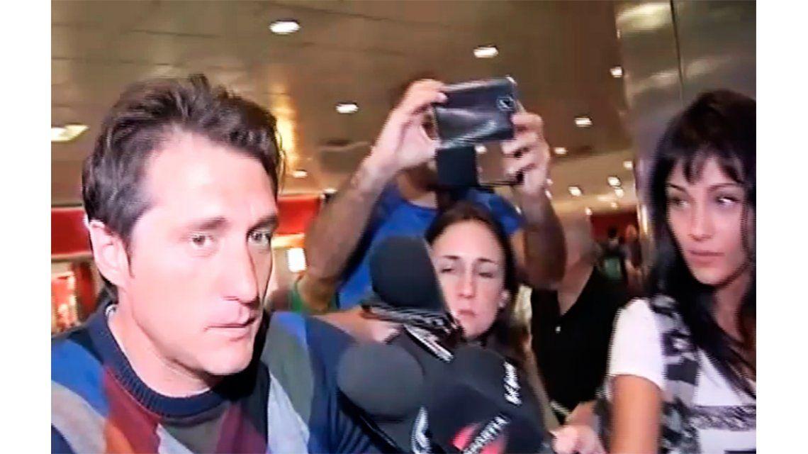 Guillermo llegó al país pero no quiso hablar sobre Boca: Hasta luego