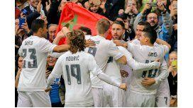El Real Madrid derrotó al Levante como visitante