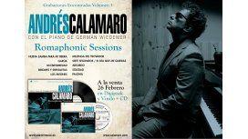 Andrés Calamaro anticipa canciones de su nuevo CD