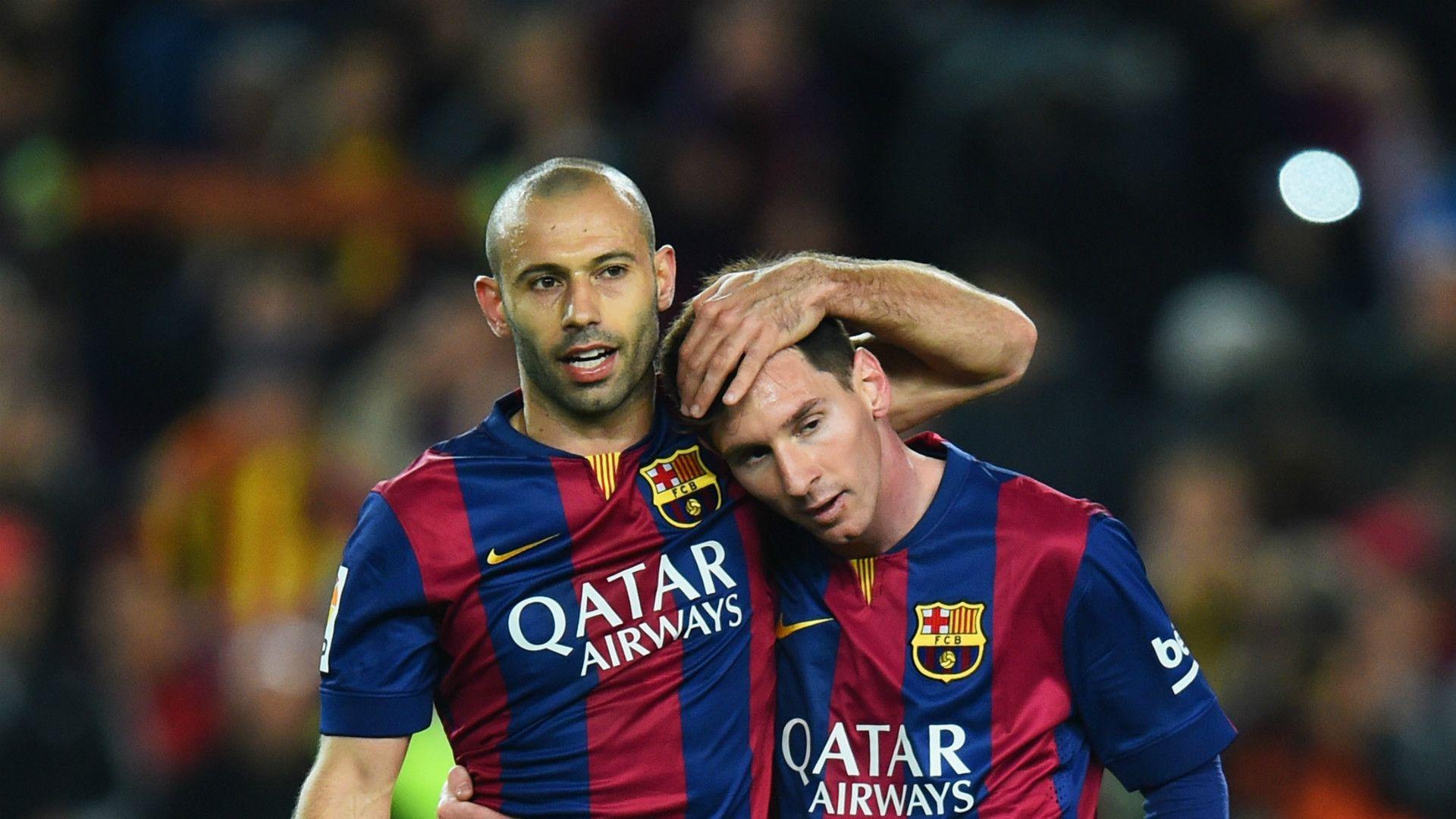 Con Messi a su lado