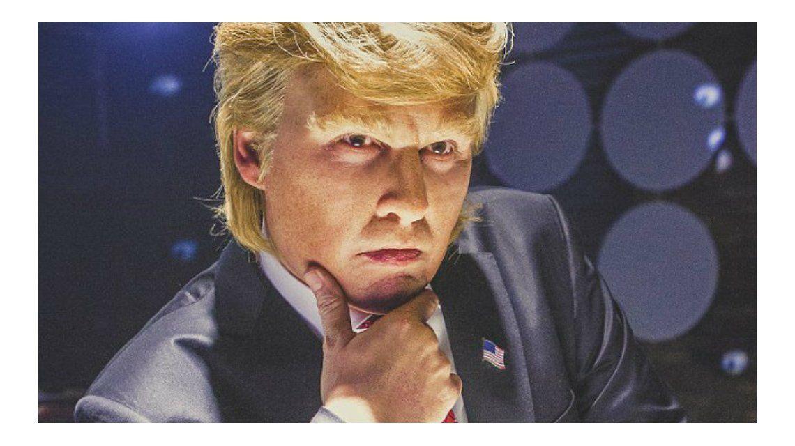 Johnny Depp protagonizó un documental que parodia a Donald Trump