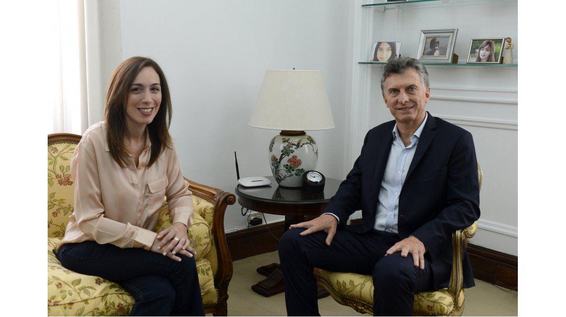 Macri participó de una reunión del Gabinete bonaerense junto a Vidal