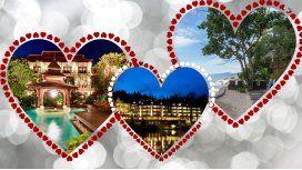 Cinco hoteles para recuperar la pasión