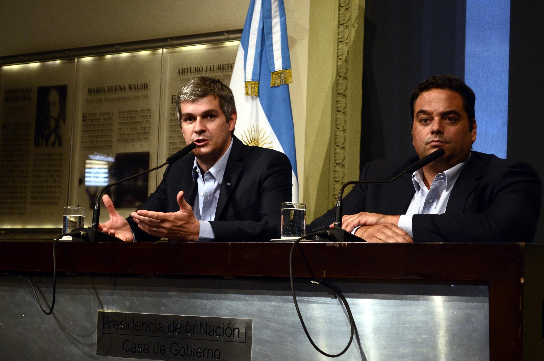 Peña: hubo coincidencia casi total entre el Ejecutivo y los sindicalistas