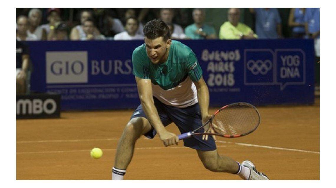 El austríaco Thiem se convirtió en el primer semifinalista del ATP de Buenos Aires