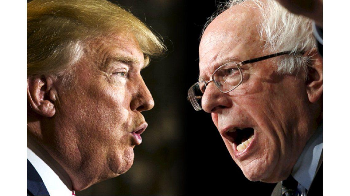 Trump y Sanders ganaron en las primarias de New Hampshire