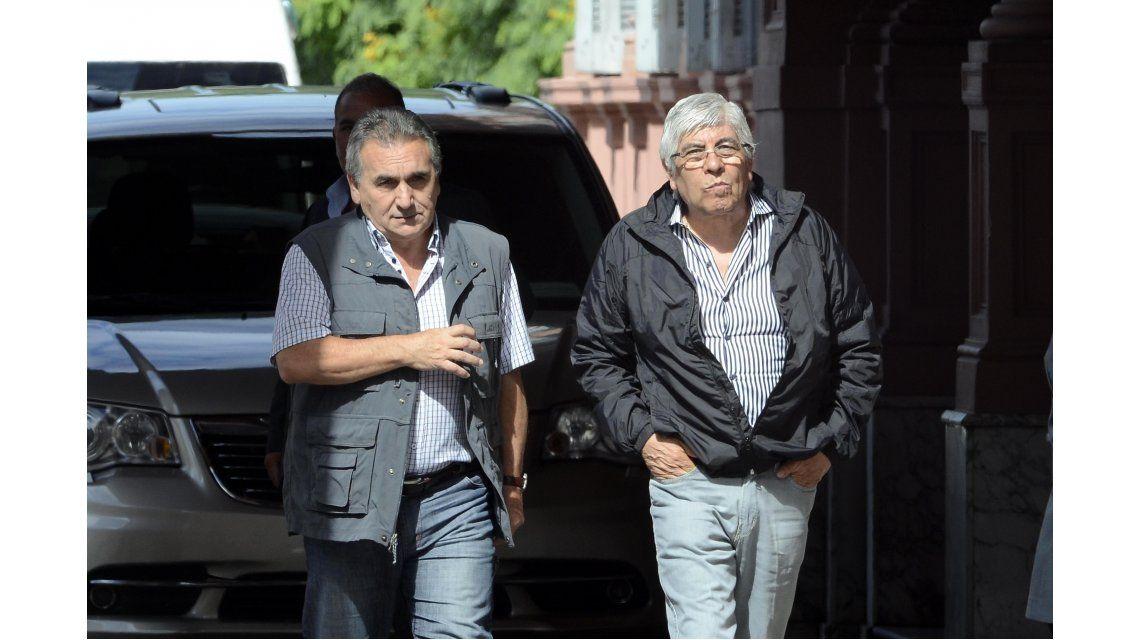 Finalizó la reunión en Casa Rosada entre Macri y los líderes de las tres CGT