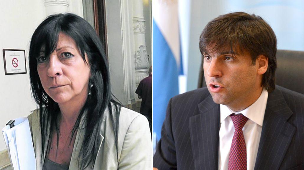 Diana Conti justificó la difusión del celular de Diego Bossio en las redes sociales