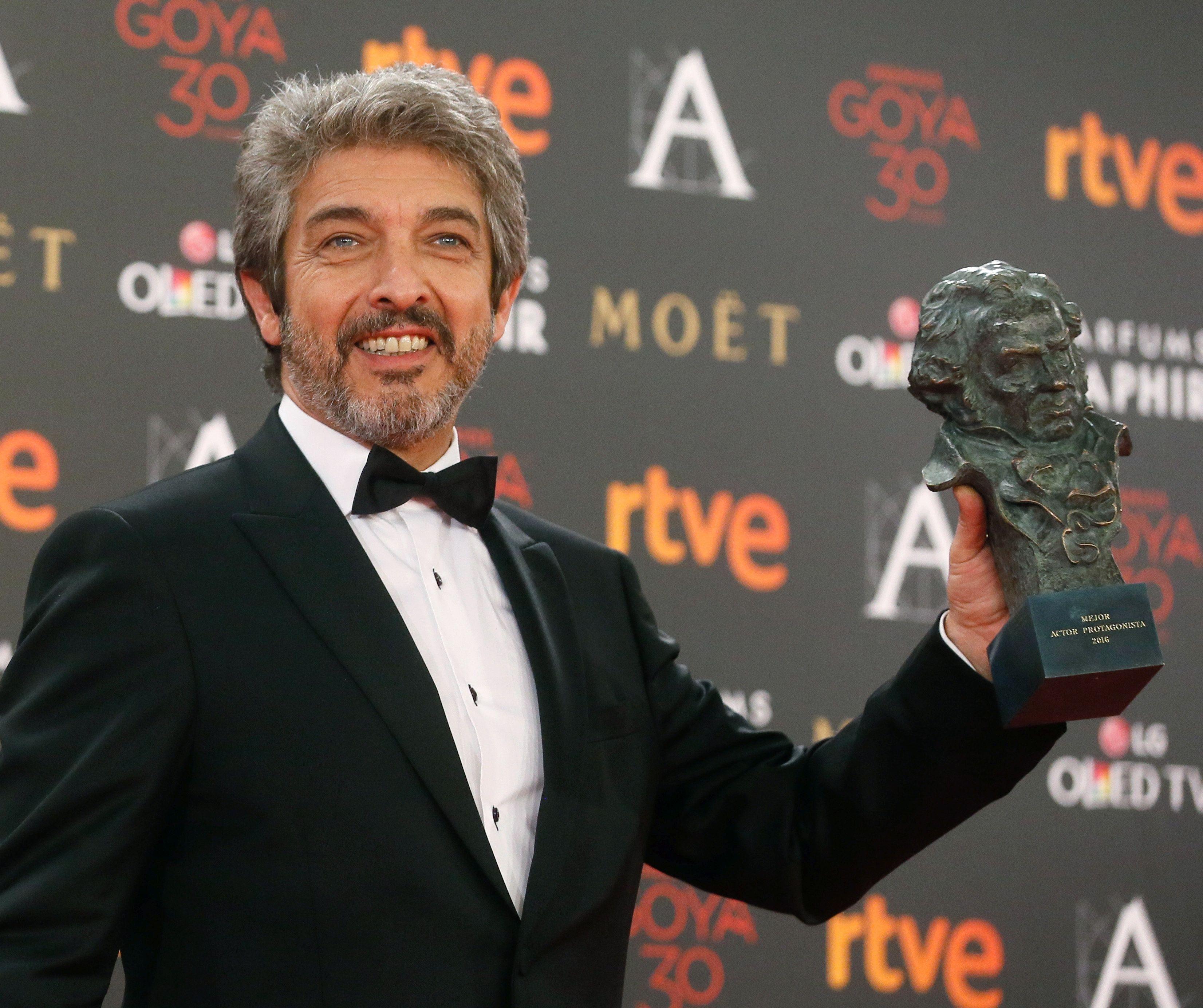 AUDIO: Feliz por los Goya, Ricardo Darín se emocionó al hablar de su madre