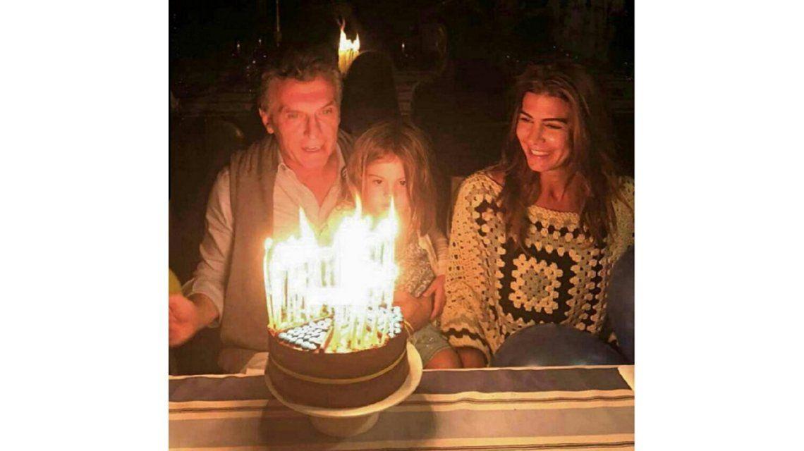 Así festejó Macri su cumpleaños número 57