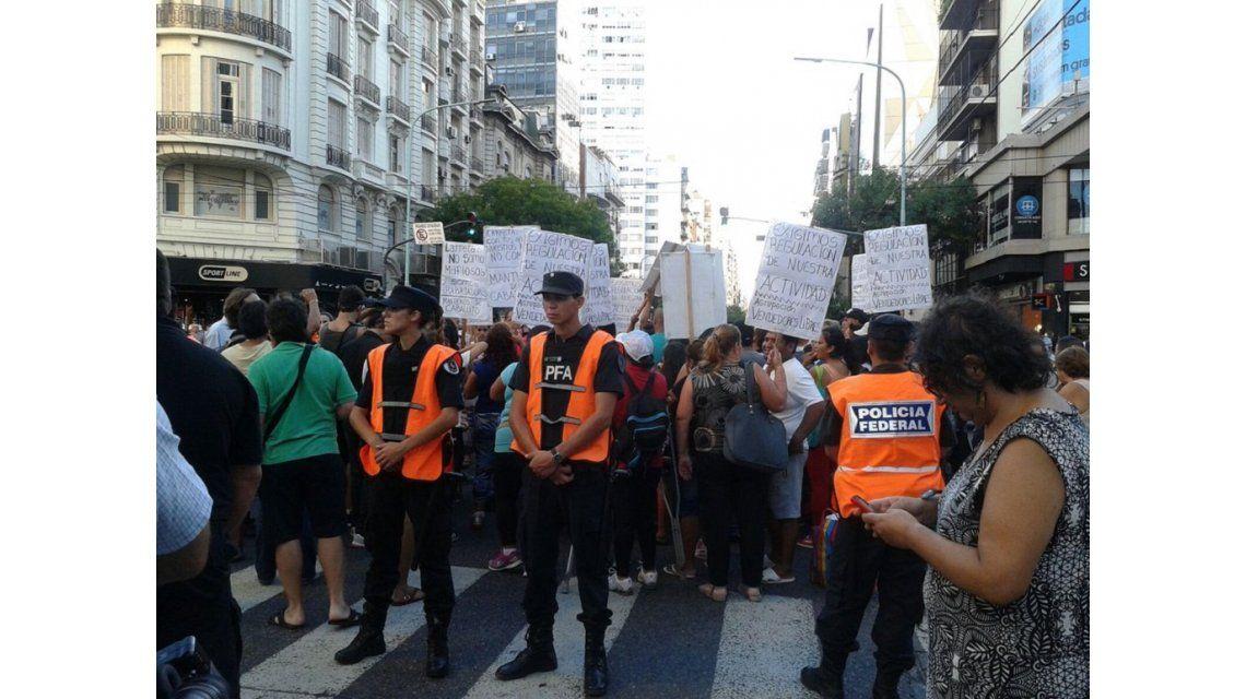 Larreta defendió el desalojo de manteros en calle Avellaneda