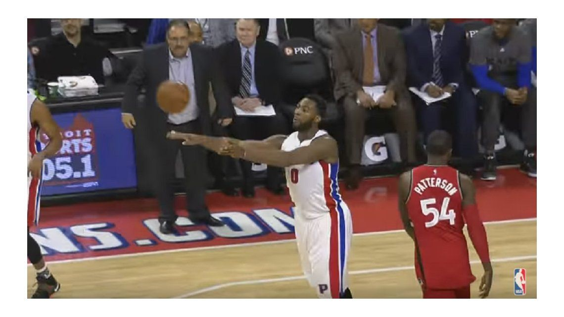 Impresionante: este enorme triple entró en la historia de la NBA