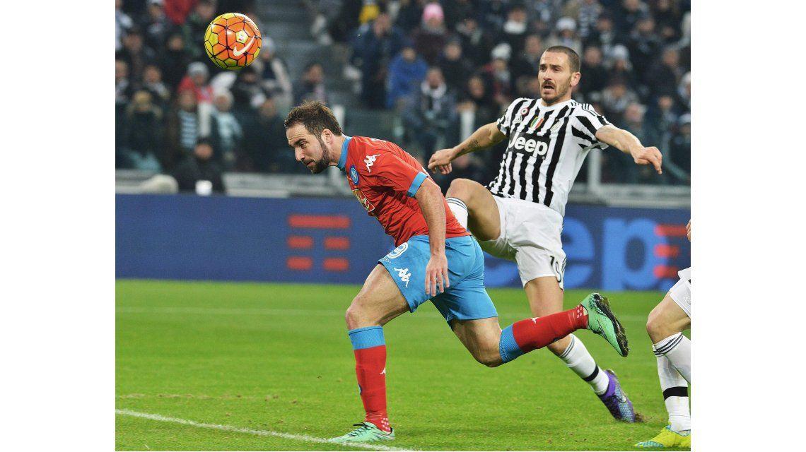 La Juventus ganó y le arrebató la punta al Nápoli