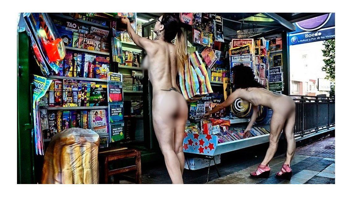 La fiesta que faltaba: presentaron el carnaval nudista de Buenos Aires