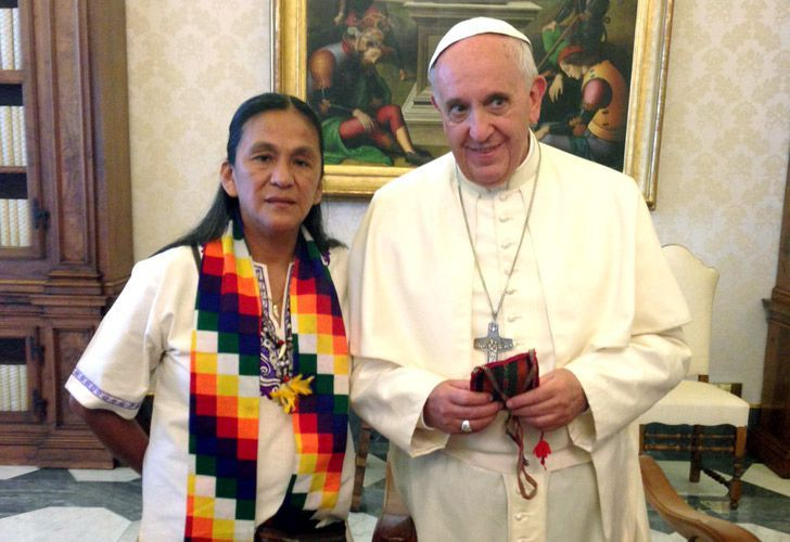 Envían una carta al Papa para que intervenga por la detención de Milagro Sala