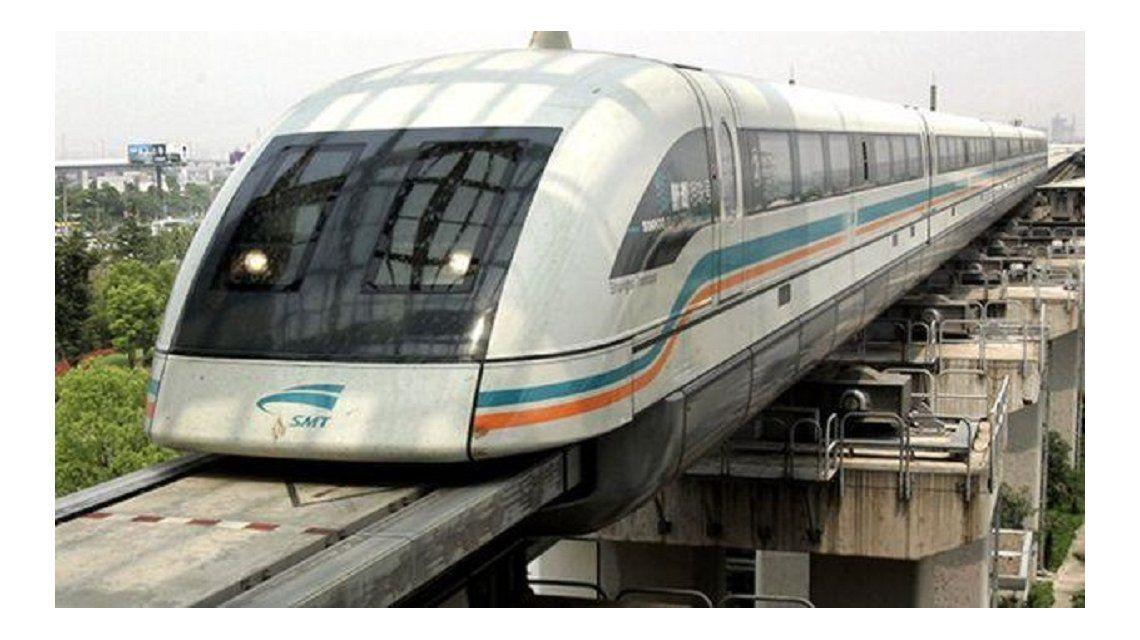 China probará su primer tren de levitación magnética este año